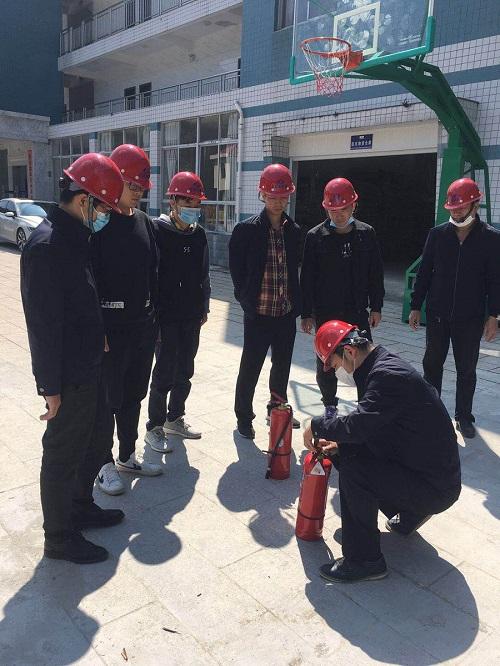 尤溪水务公司开展消防演练